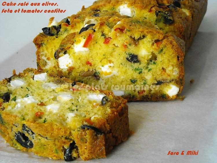 Cake Sal Ef Bf Bd Feta Poivron
