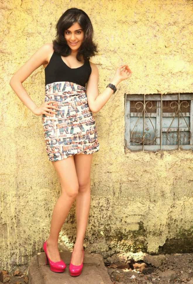 Adah Sharma Latest Photos in Short Mini Dress