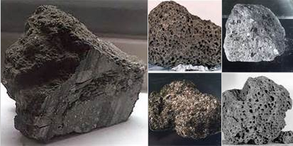 carbon dating moon rocks