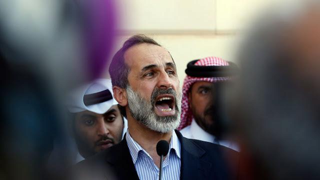 Ahmed Moaz al-Khatib.