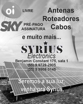 Syrius Eletronics em Santiago