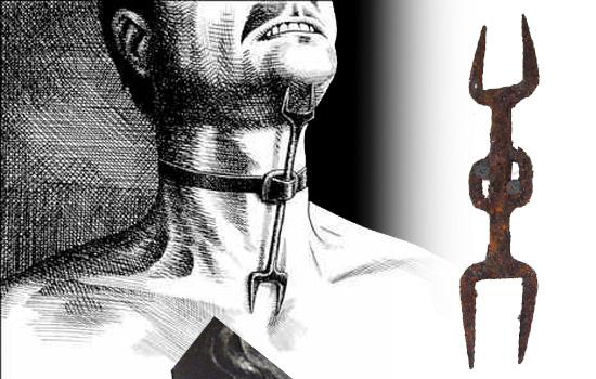 Torturas Medievais - Forquilha do herege