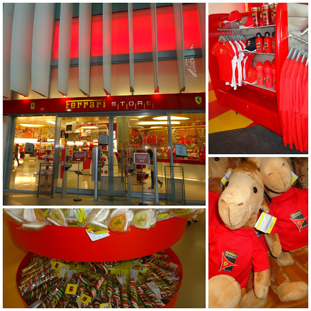 The Ferrari Store at Ferrari World, Yas Island Abu Dhabi
