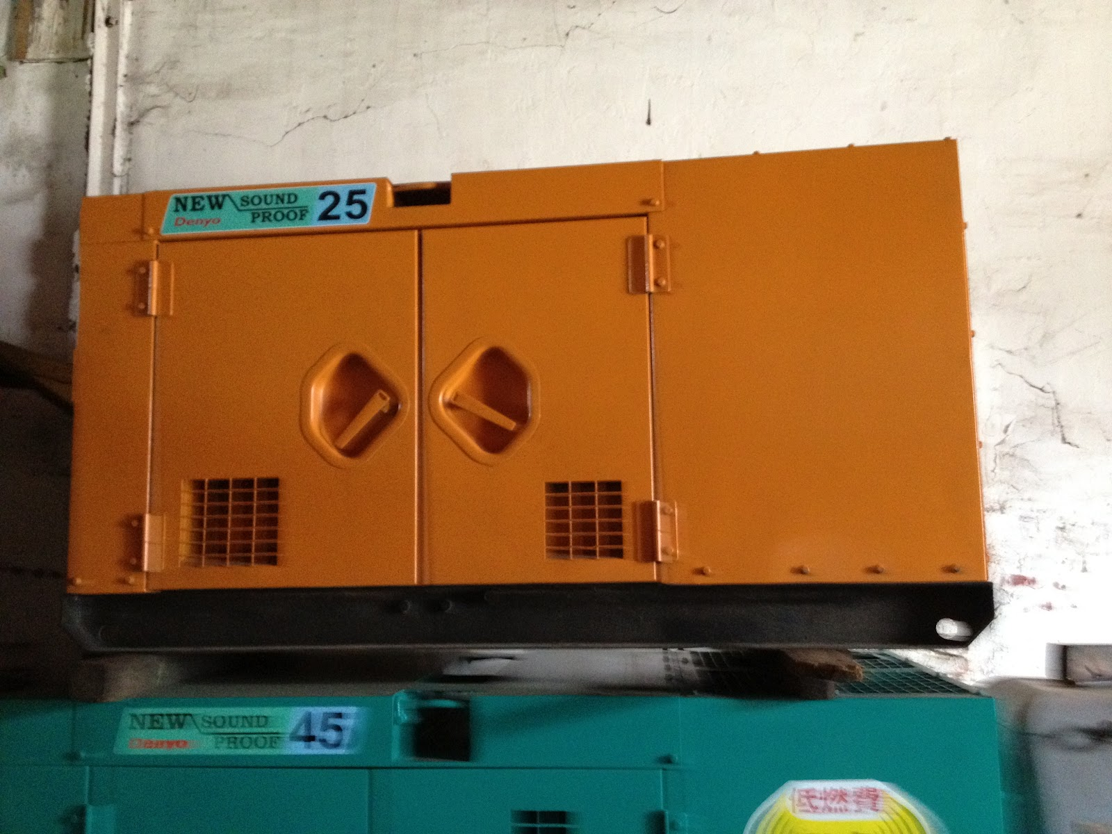 HEAVY EQUIPMENTS AND GENERATORS FOR SALE