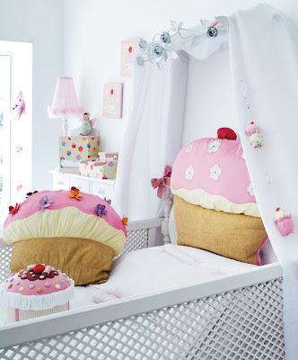 almofada de cupcake - Portal de Artes
