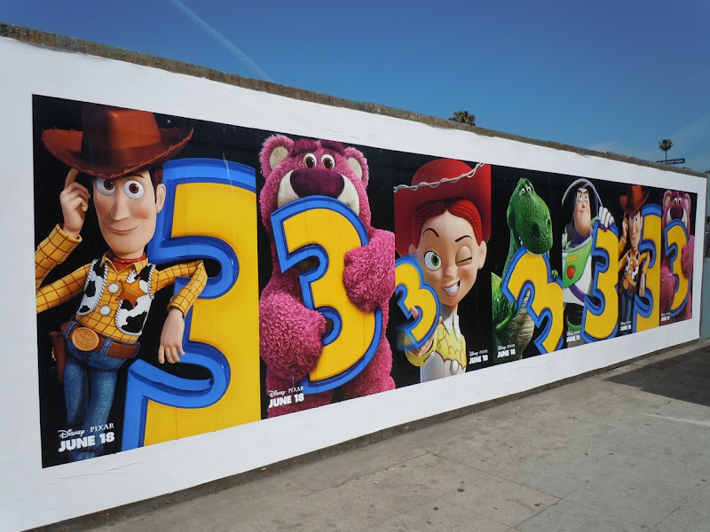 Toy Story 3 street posters