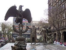 foto del la estatua