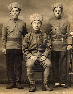 Soviet Koreans in uniform