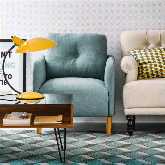 Match petits fauteuils pour salon - La redoute fauteuils ...