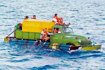 Mueren cinco balseros cubanos en el mar al intentar salir de la isla