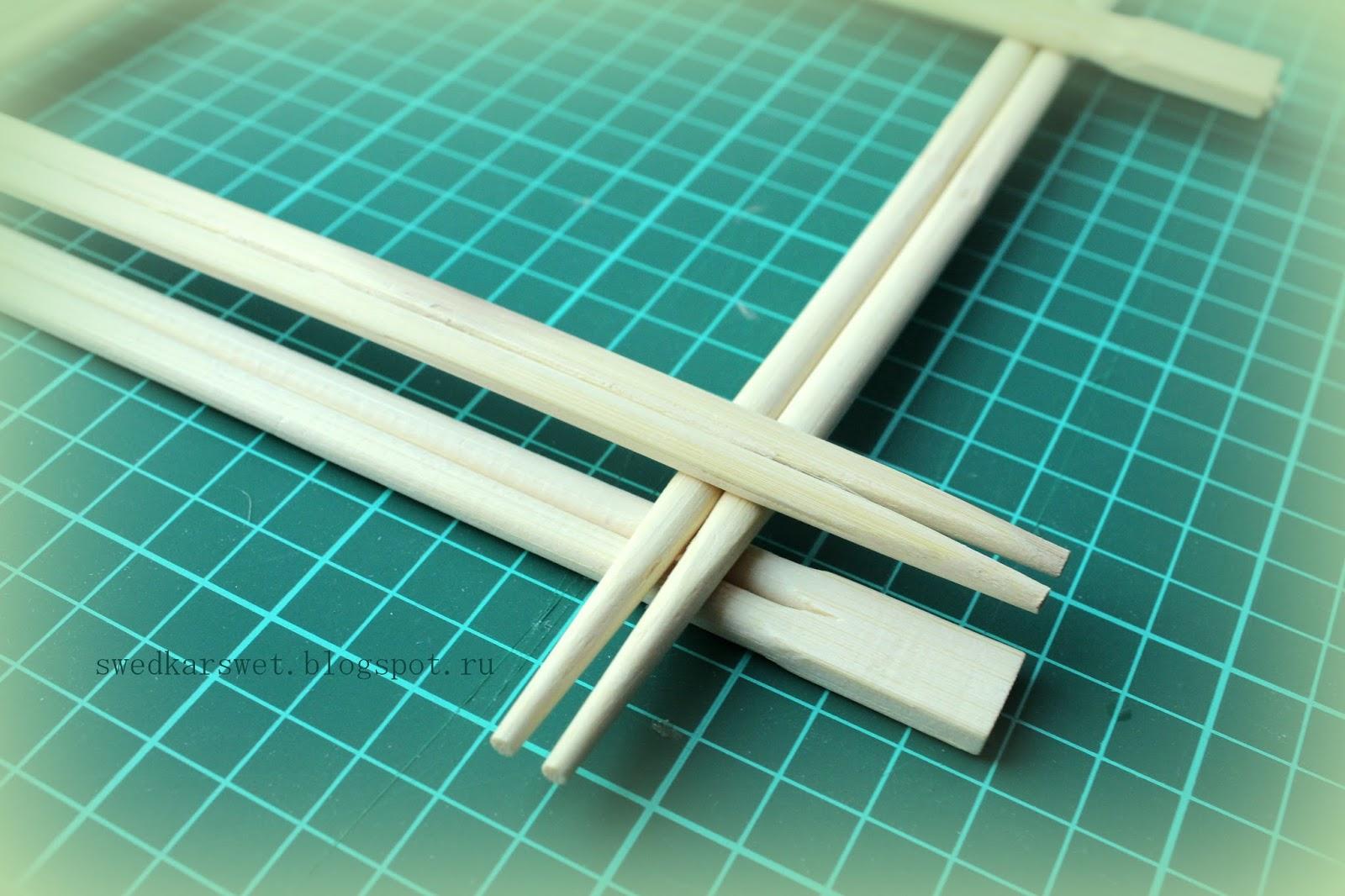 Поделки из бамбуковых палочек для суши своими руками 151