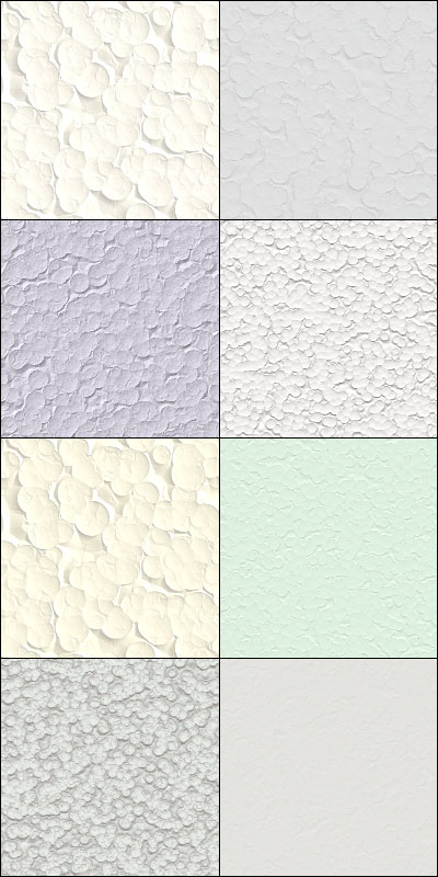Styrofoam seamless tiling patterns