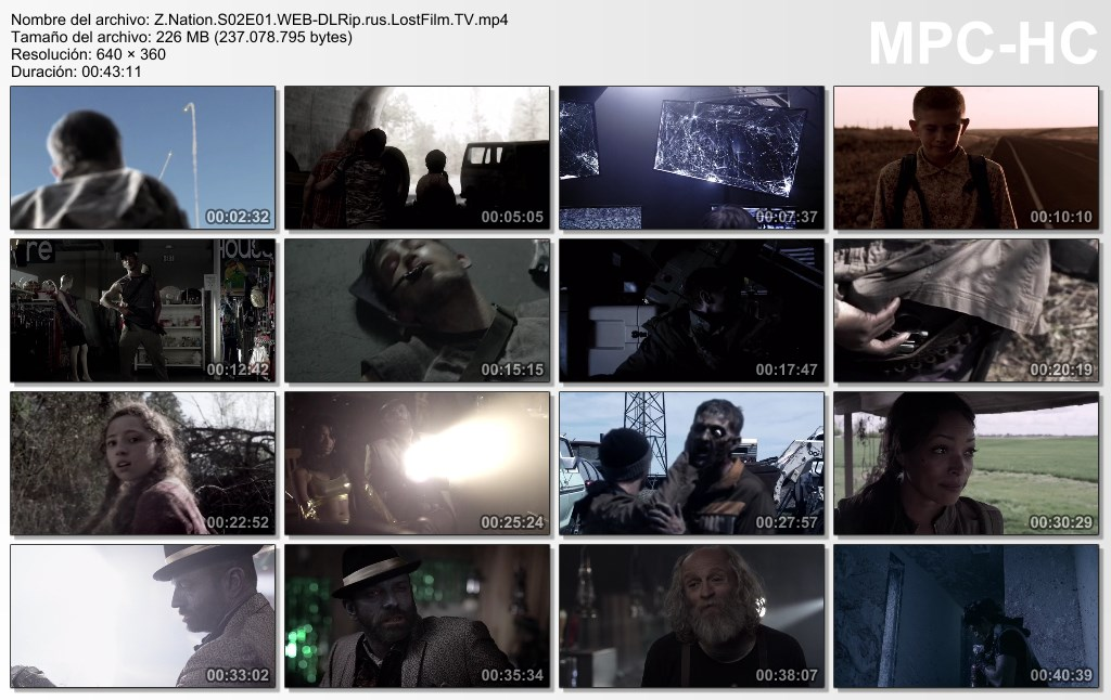 Z Nation|Temp 2|Dual LAT-EN|1080p/480p Web-dl