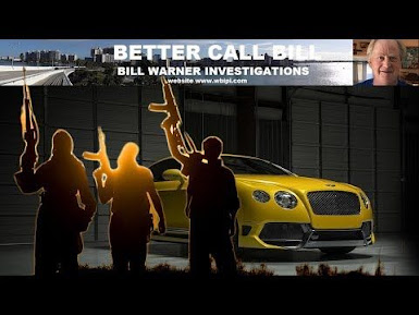 VIDEO..Private Investigator Bill Warner Tells All on Stolen Car Racket