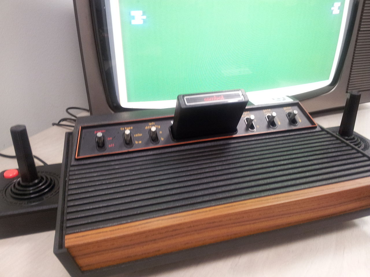 Togelius why video games are essential for inventing artificial intelligence - Original atari game console ...