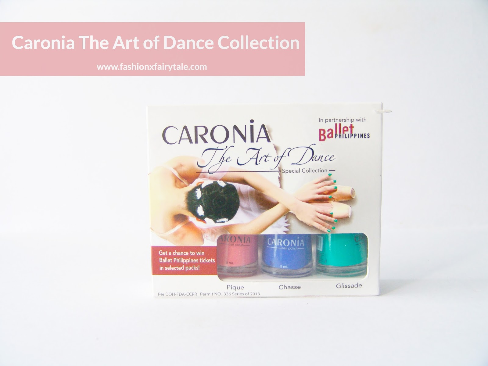 Caronia The Art of Dance Nail Polish Collection Review & Swatches