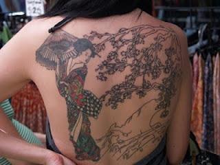 Dicas de Tatuagens de Gueixas