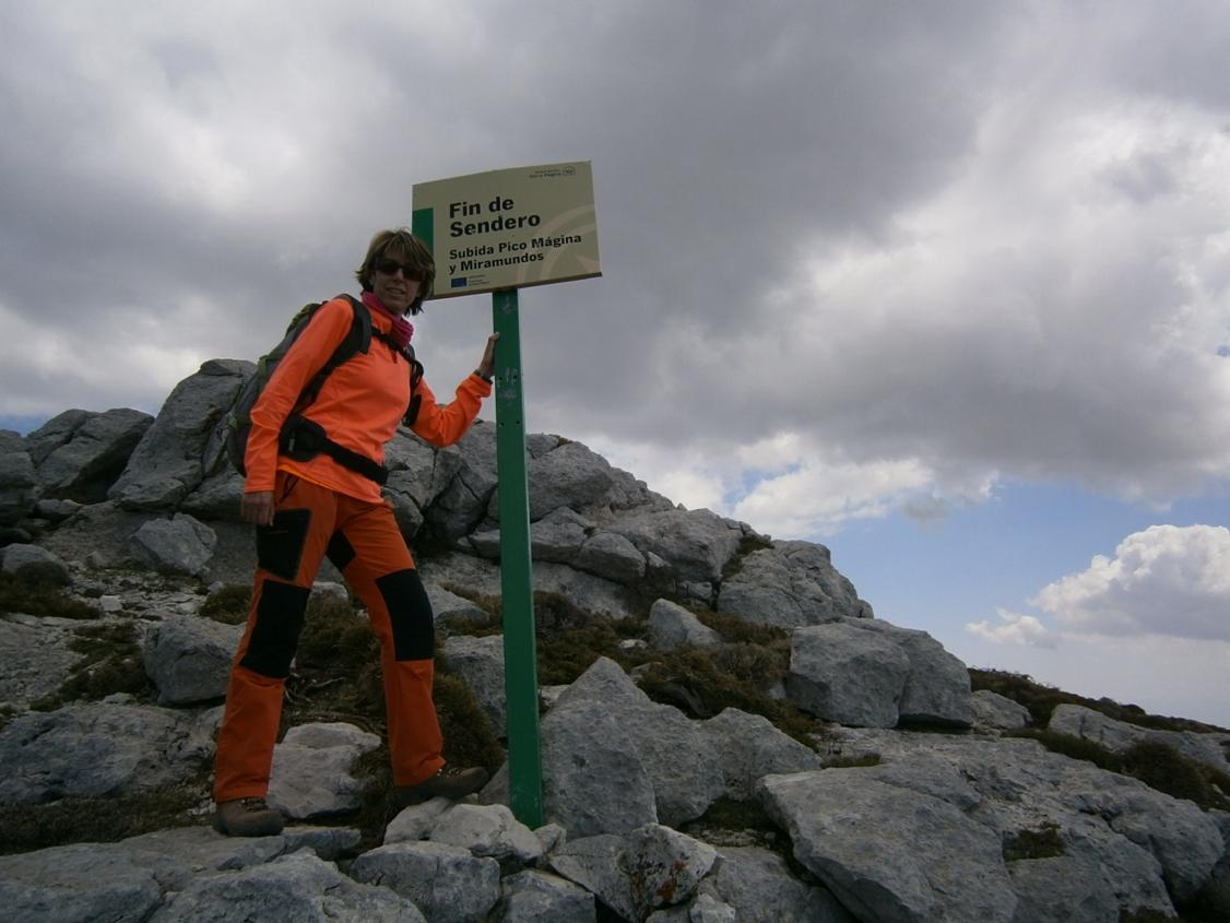 Pico Mágina en Jaén