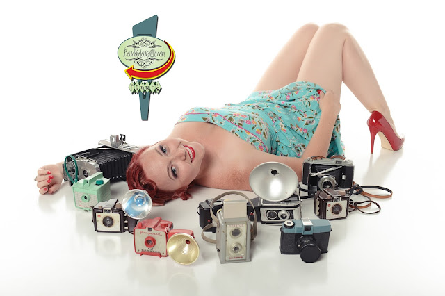 Louisville Boudoir and Pinup Photographers: Pinup Girl