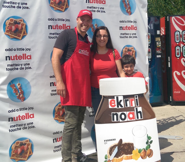 Meet & Greet With Chef Stefano Faita Nutella Summer Truck Tour #AddALittleJoy