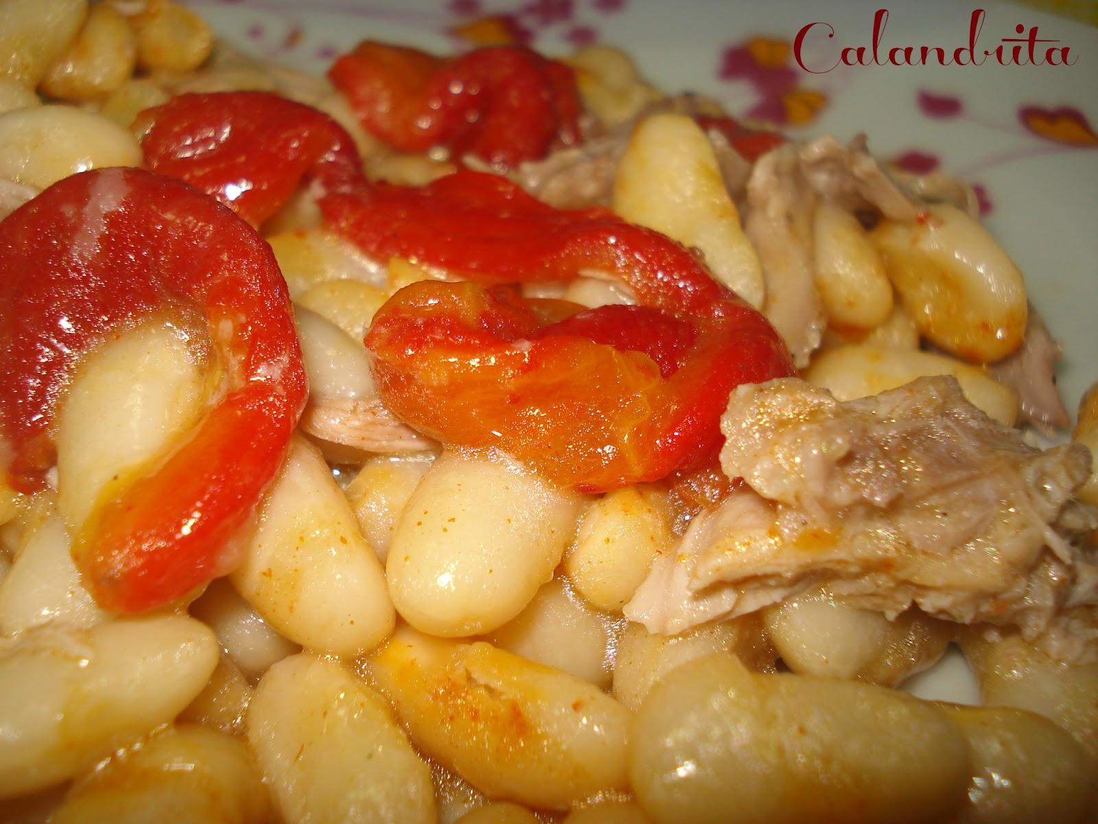 La cocina de calandrita ensalada de judias blancas con perdiz - Ensalada fria de judias blancas ...
