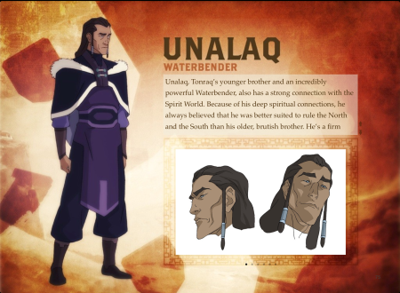 Unalaq from Legend of Korra - BIO