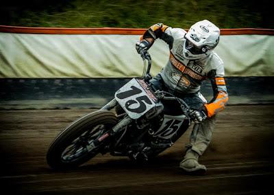 Jan Willem Racar Flat track i Sverige