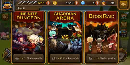 Review Games Android: Guardian Hunter: SuperBrawlRPG Full Version 2015