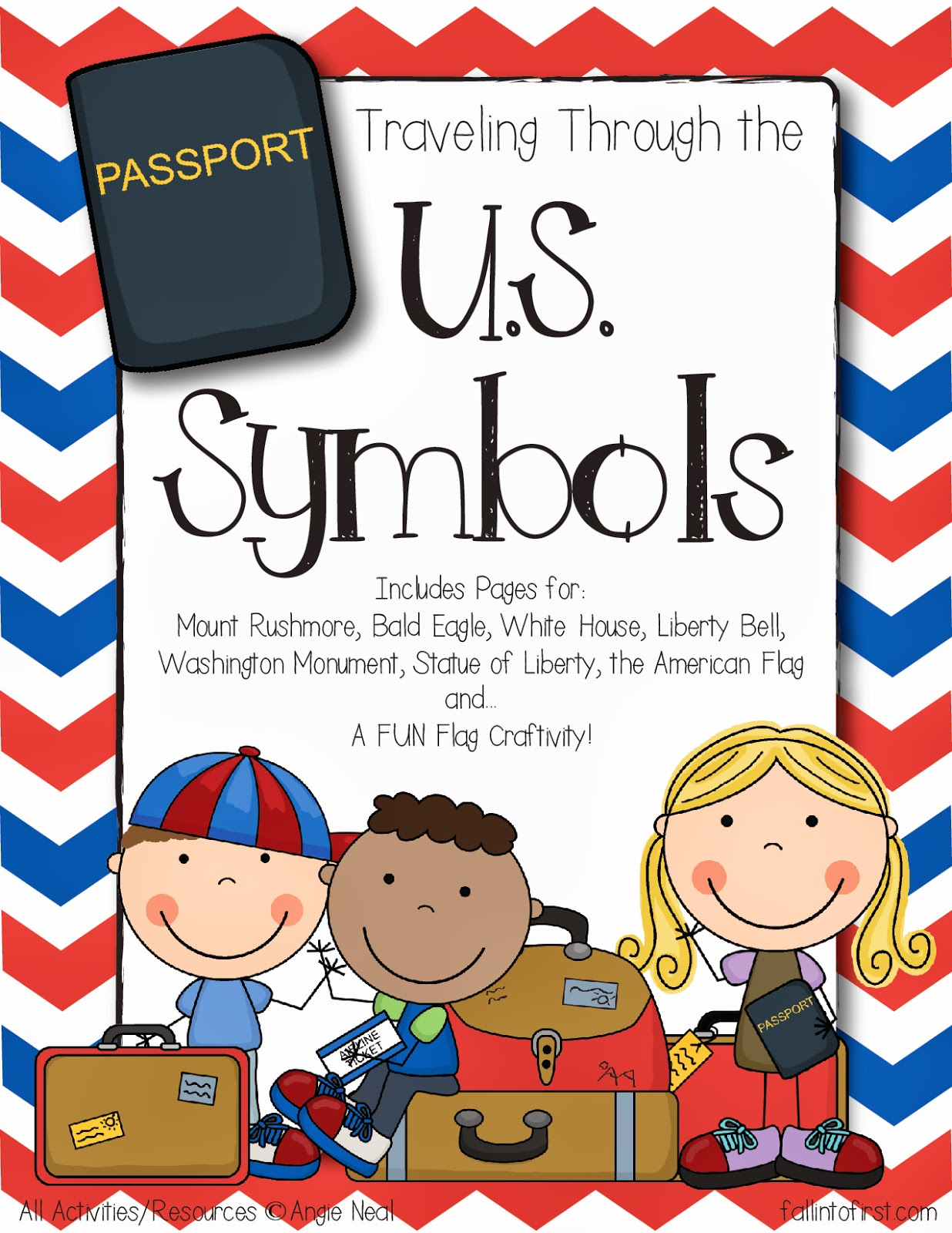 Fall Into First United States Symbols