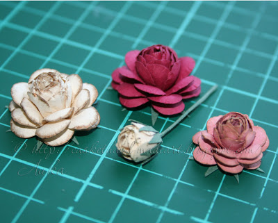 Подборка МК по цветочкам