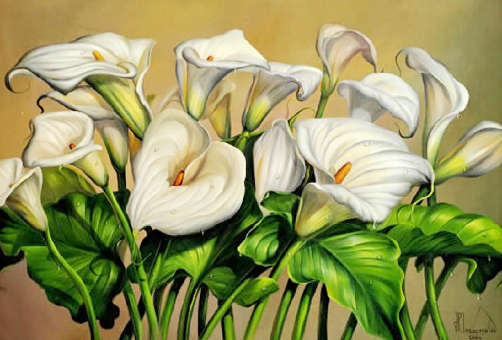 Im genes arte pinturas pintura bodeg n con flores - Fotos en cuadros ...