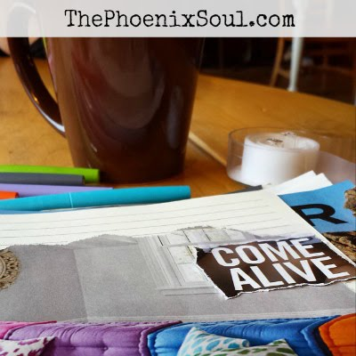 Honored to be published in The Phoenix Soul