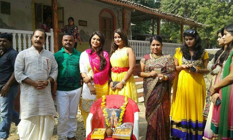 Star Cast Alok Kumar & Rinku Ghost bhojpuri movie 2015 photo