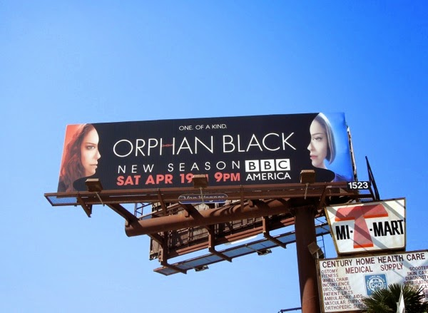 Orphan Black season 2 billboard
