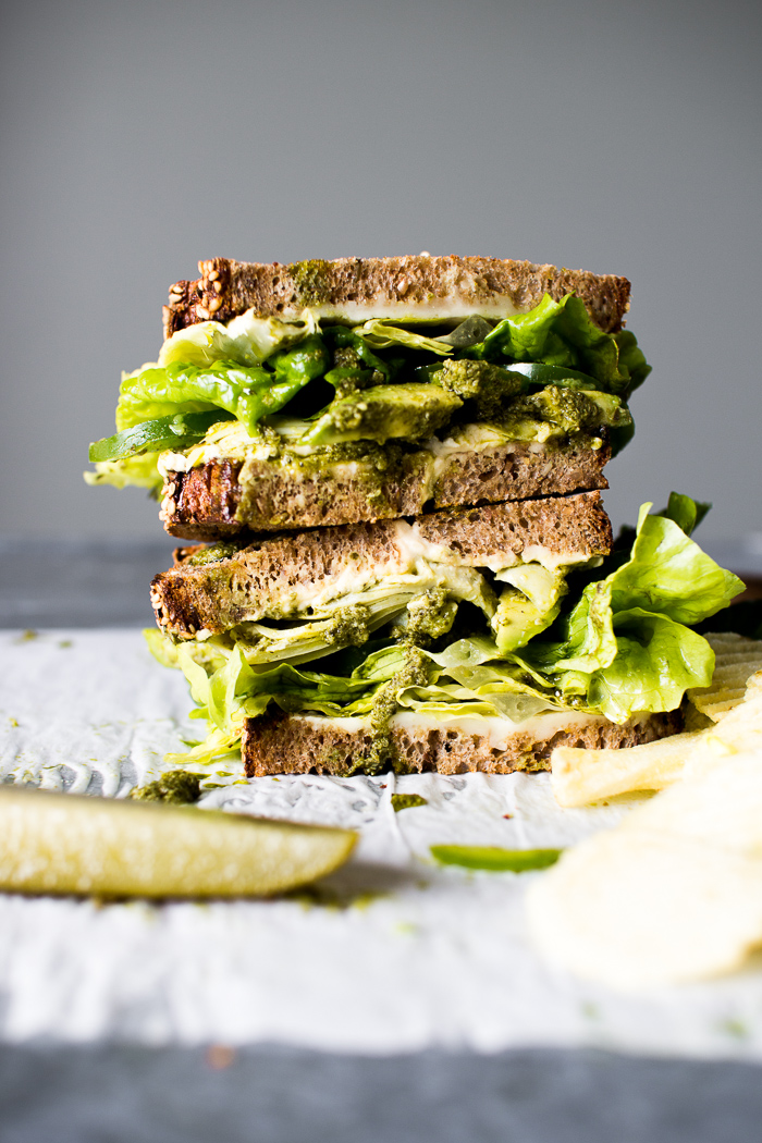 The Ultimate Veggie Sandwich + EXCITING NEWS!!! | The Flourishing ...