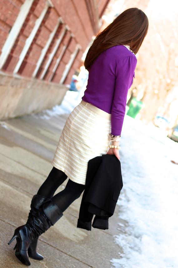 Purple & Cream   StyleSidebar