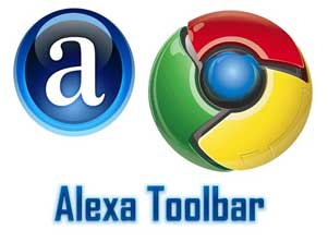 Alexa Toolbar Toolbar sudah support Google Chrome