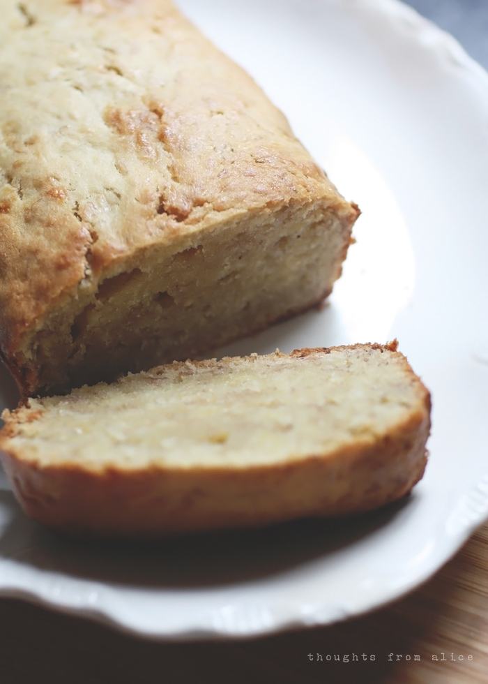 banana bread without baking powder