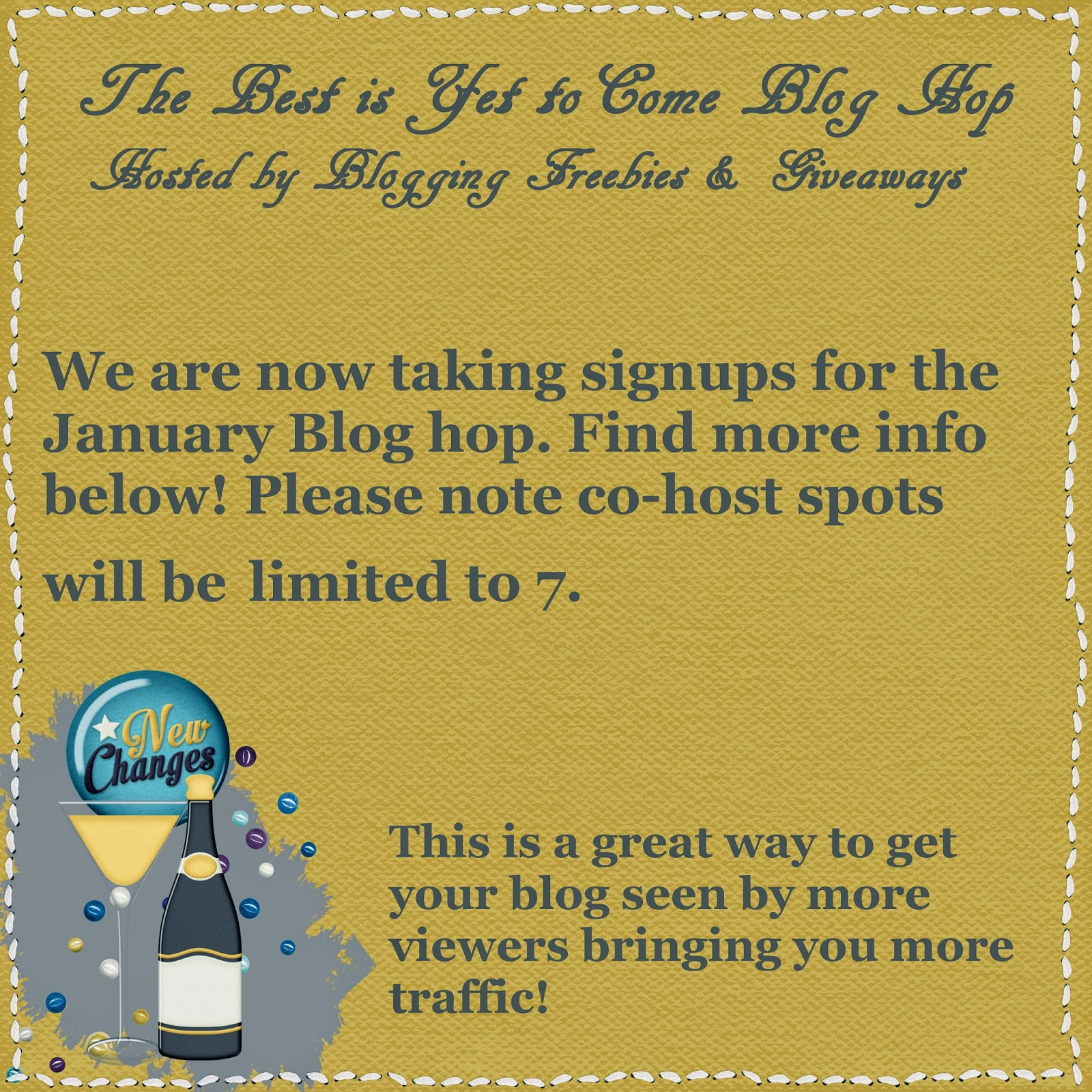 January Blog Hop Signup Announcement Post