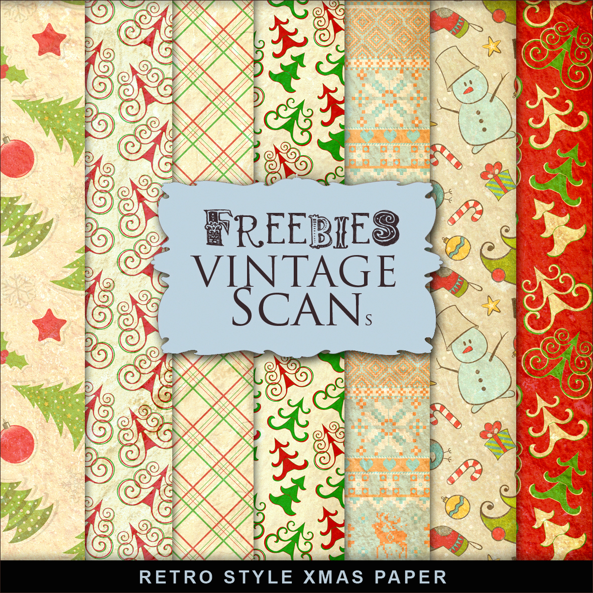 Vintage Style Paper