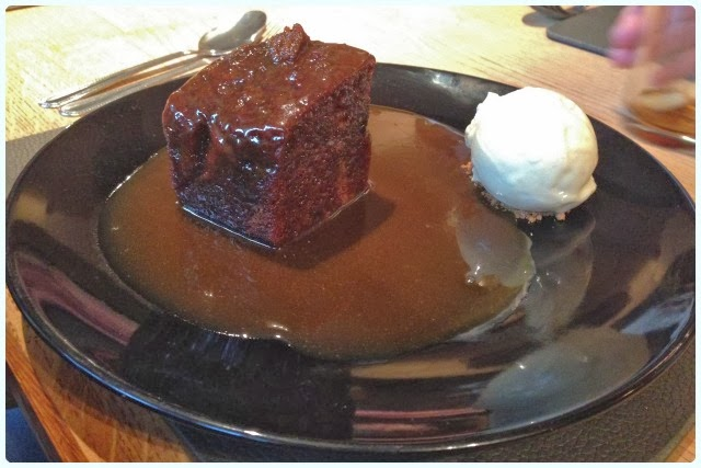 Yew Tree Inn, Anglezarke - Sticky Toffee Pudding