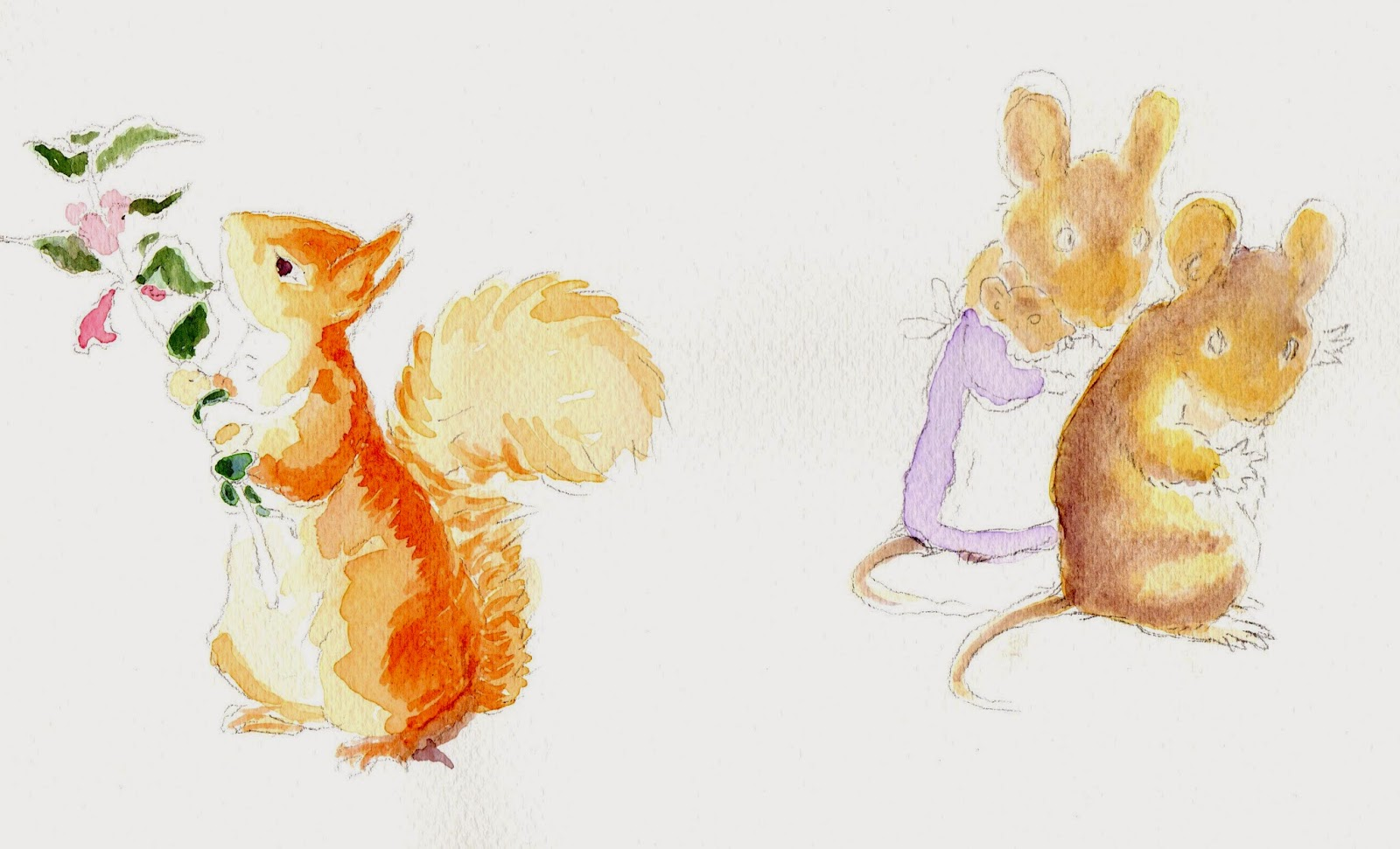 how to draw like beatrix potter