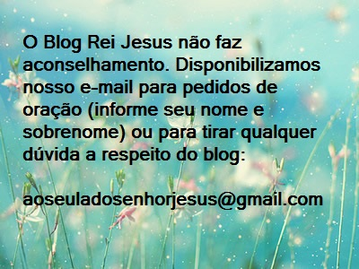 E-mail para pedidos de oração:
