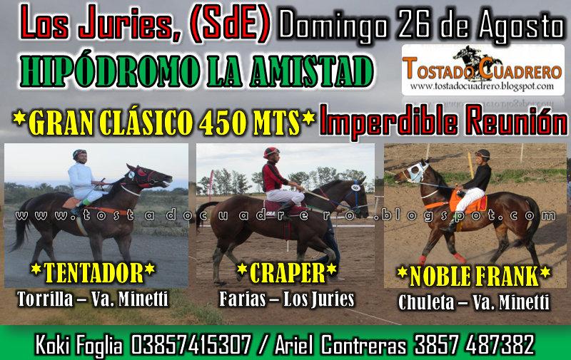 LOS JURIES 26-08-18 CLASICO