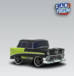 Chevrolet Nomad 1956 - Blackgreen