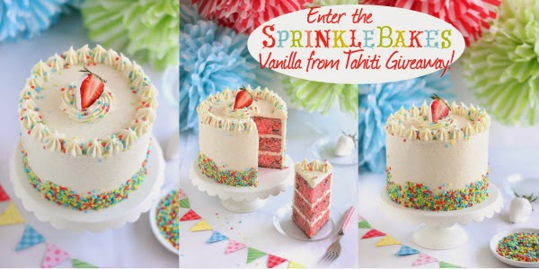 Enter the SprinkleBakes Vanilla From Tahiti Giveaway!