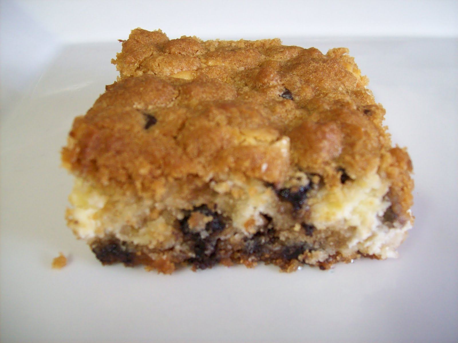 Julie's Sweet Shack: Chocolate Chip Cheesecake Brownies