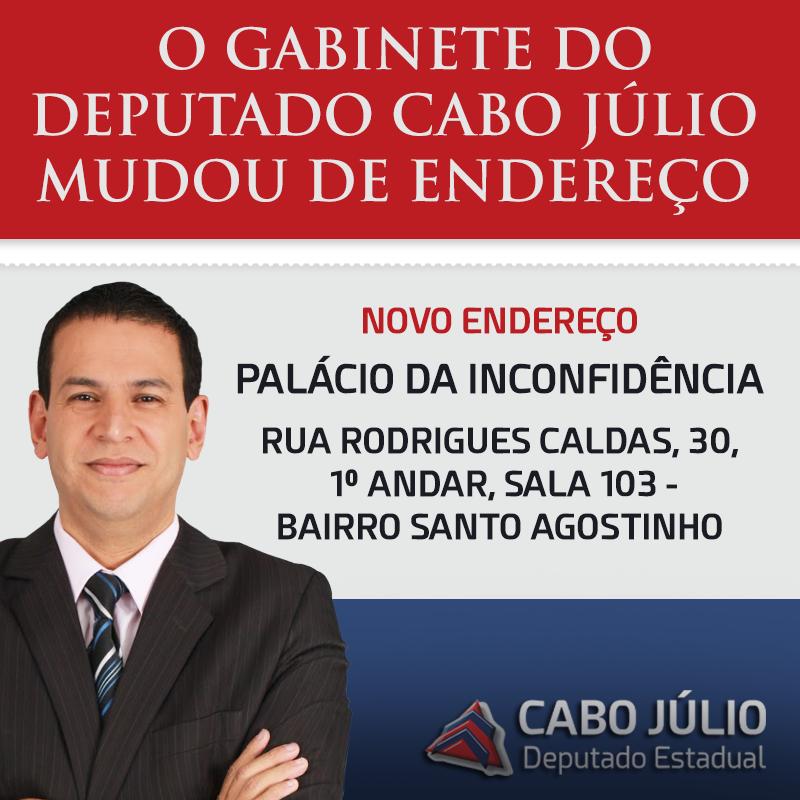 NOVO ENDEREÇO GABINETE