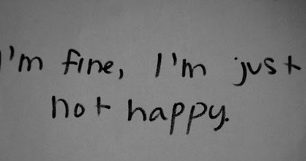 Quotes About Hurt Broken Love I Am Fine I Am Just Not Happy | Saying  Pictures