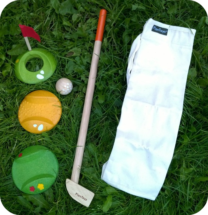 Plan Toys Mini Golf Single Set from Great Gizmos